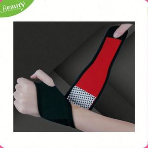 High quality wrist thumb support protector AD022 Knitting Wrist Wrap Plastic Adjustable Wrist Support