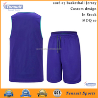 2016 latest design basketball jersey good quality cheap wholesale jersey baskteball reversible mesh basketball uniform OEM