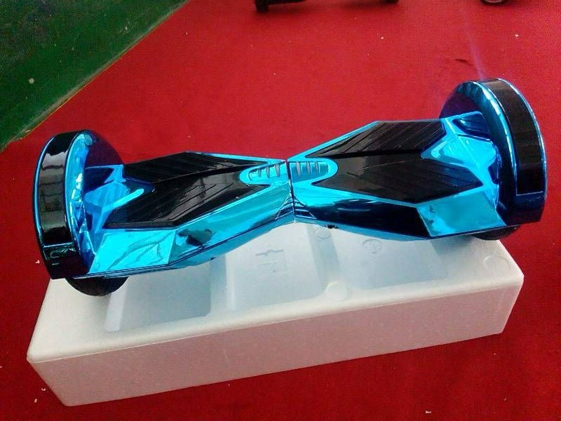 Lambo Hoverboard Balance Scooter Chrome Gold 2 Wheel Hoverboard