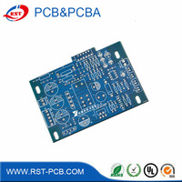 factory customized one double multilayer fr4 94v0 ups pcb board Hasl 6 Layers pcb Shipping by DHL