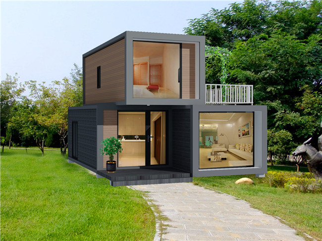 Luxury flat pack folding container house for sale
