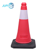 PE material easy to operate cold-resistant durable traffic road cone for hazardous areas