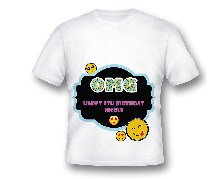 Custom Emoji Birthday Party Shirt, Emoji Birthday Shirt, Emoji Birthday, Custom Emoji Birthday, Custom Emoji Shirt, Emoji Party, OMG BIRTHDAY SHIRT