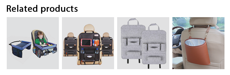 SN-Y-041 ipad car organizer suv rear storage back seat accessories