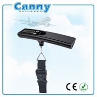 50kg/110lbs Portable Luggage Scale, Digital Travel Scales LED flash when over target weight