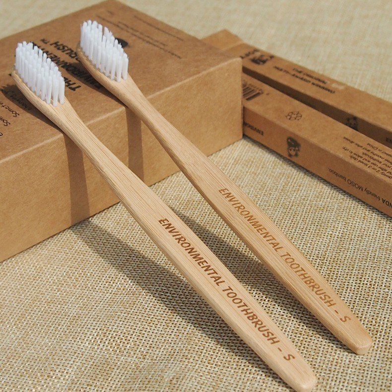 Environmental Biodegradable <strong>Bamboo</strong> Disposable Hotel Toothbrush