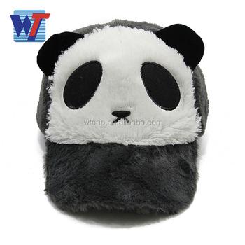 888fa07ba Lovely Panda Shape Kids Size Winter Plush Animal Hat - Buy Plush Animal  Hat,Kids Animal Winter Hats,Plush Animal Head Hat Product on Alibaba.com