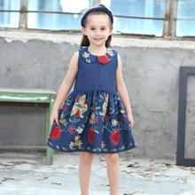 Baby Girl Dress short sleeve kids dresses for clothes Nova Floral Baby Girl Kid 2018 children clothing