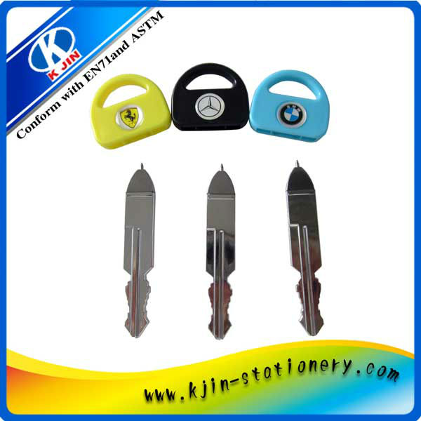 Shape of the car keys gift ball pen
