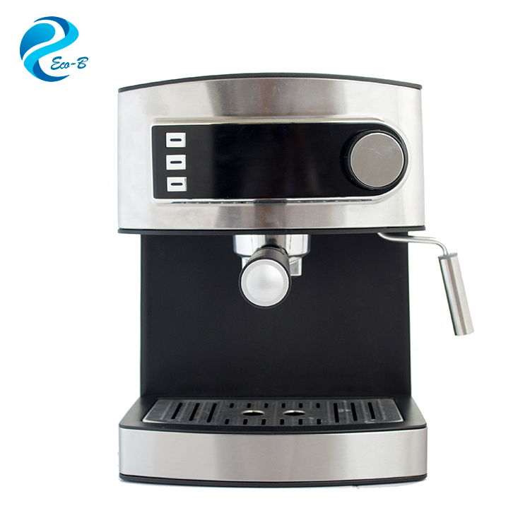 Wholesale 15bar 1.6 Liter Stainless Steel Home Office Moka Coffee Maker , Electrical Espresso Machine Coffee