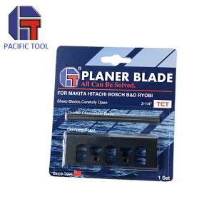 wholesale 82mm TCT mini reversable planer blade with adaptor plates