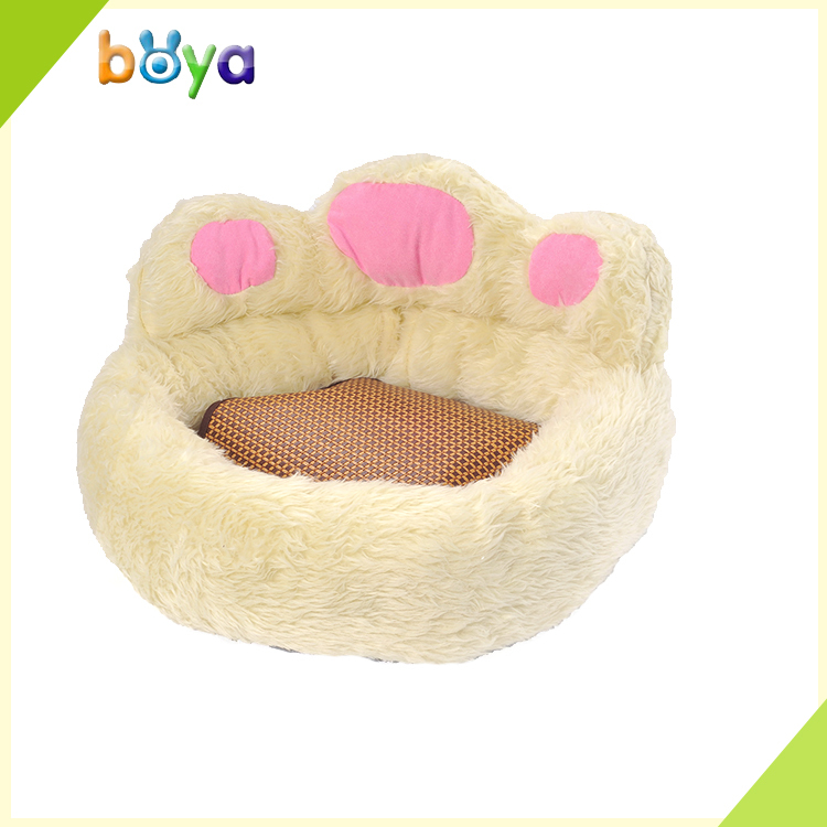 Cute dog bed pet product in bear paw sharp for small dog ,Wholesale dog accessories dog bed