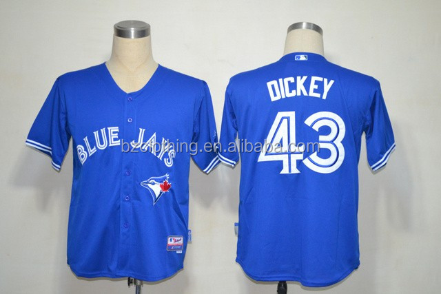Toronto Blue Jays RA Dickey #43 American Baseball Jerseys