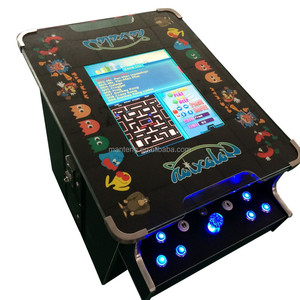 60 in 1 mini 2 sides arcade cocktail machine coffee table game machine