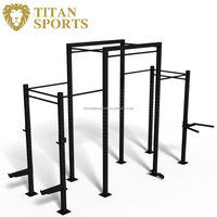3 Cell Rack for Power and Cross fit Training