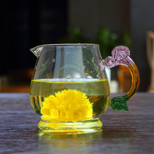 drinking glass tea cups with handle