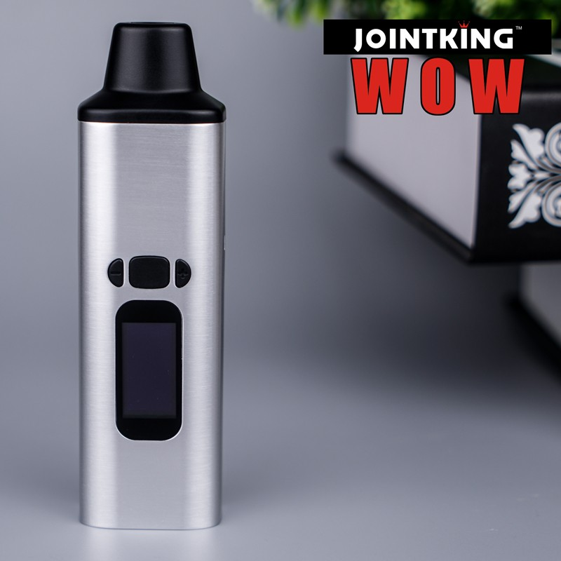Authentic Ald Amaze dry herb vaporizer WOW vs pax 2 vaporizer the first digital vaporizer with 0.96 inch Oled display