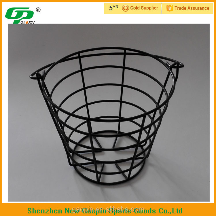 Golf metal wire basket for balls
