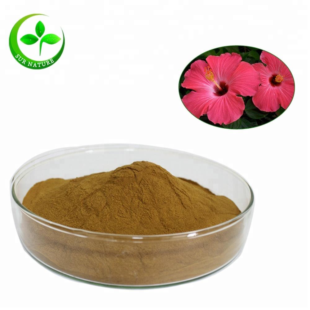 Hibiscus Flower Extract Powder 51 For Tea Buy Hibiscus Flower