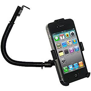 Amzer 15-Inch Steel Gooseneck Floor Mount for iPhone 4