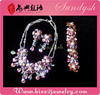 Vintage Fashion Diamond Necklace Earrings Designer Bridal Costume Jewellery