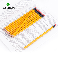 10% OFF DISCOUNT High quality customized wooden HB pencil