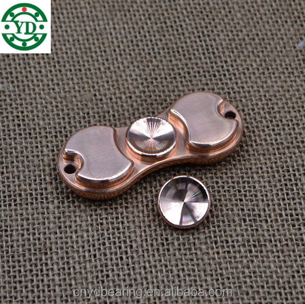 Torqbar Brass Relieve Stress Fidget Toys EDC hybrid ceramic Bearing Hand Spinner toy