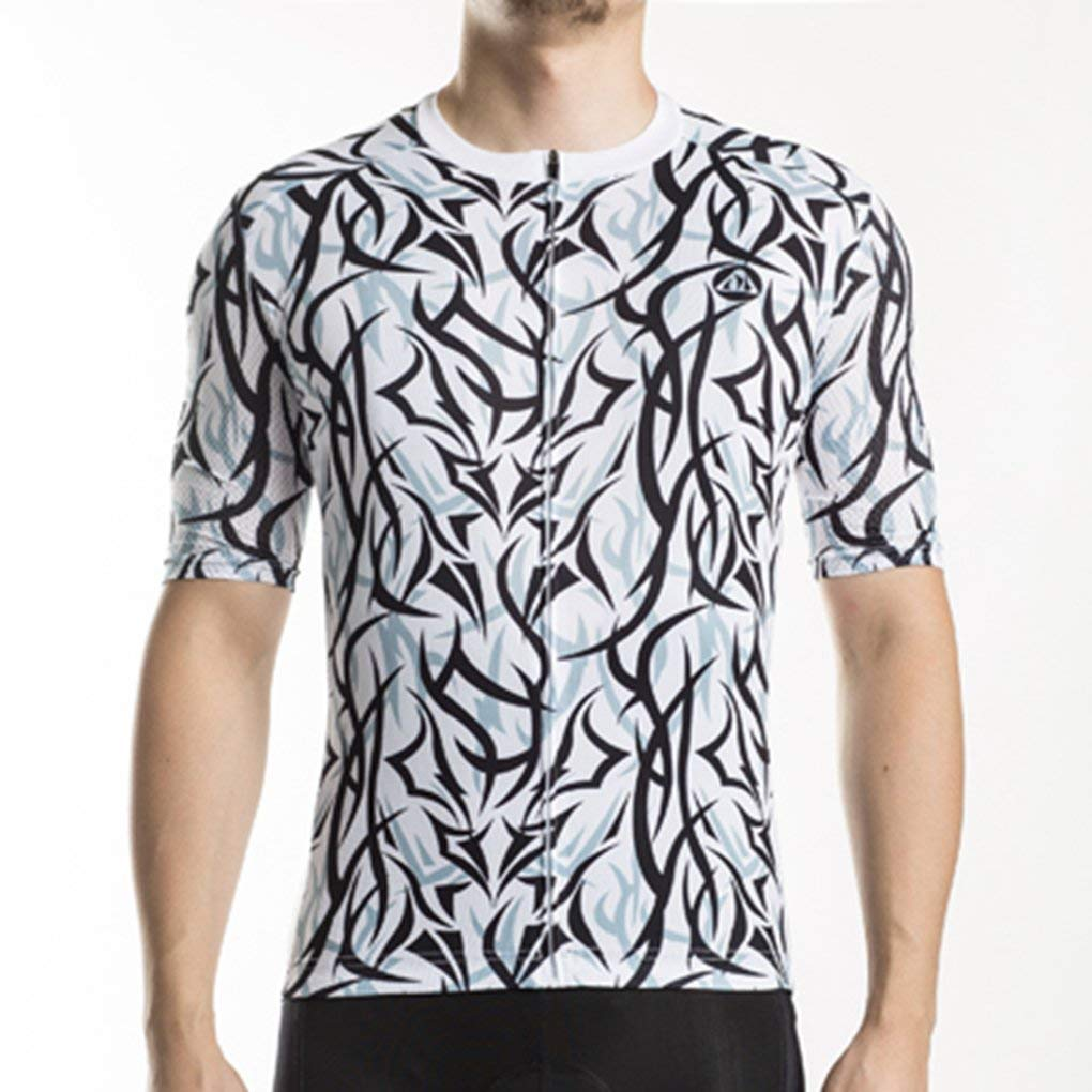 Cycling Jersey MTB Fit Bike Wear Short Clothes Bicycle Biking Jacket Top  Shirt 06043bd18