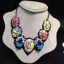 factory direct supply shourouk jewelry china wholesale, beautiful colorful beaded shourouk necklace statement