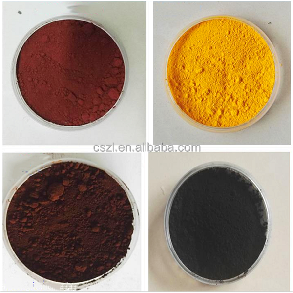 wholesale iron oxide fe2o3 pigment msds for brick