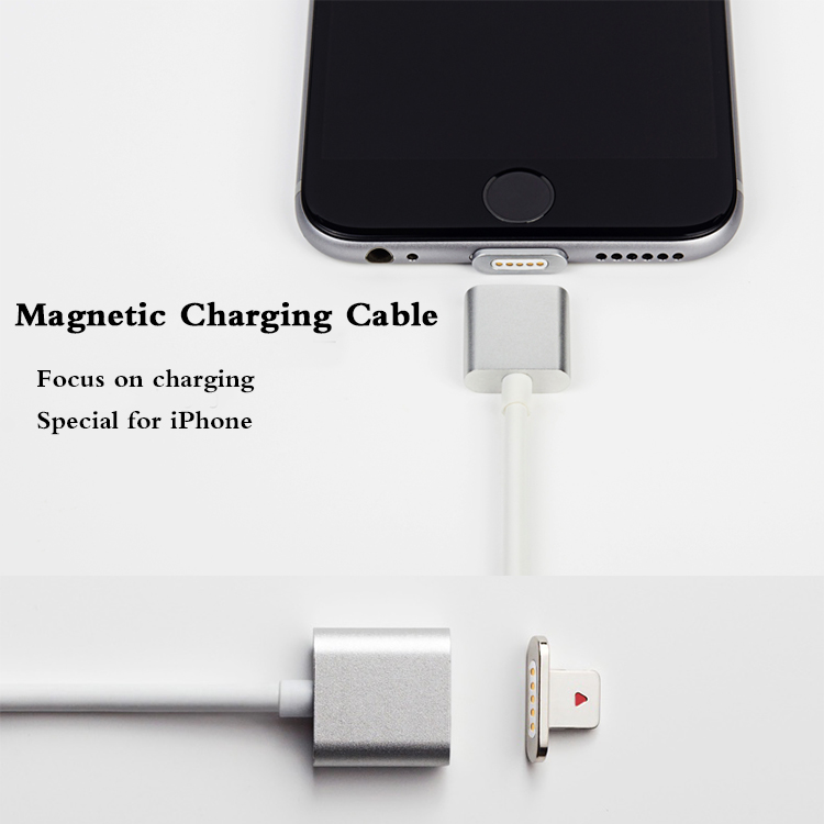 Special for iPhone Magnet USB Cable Charger, Magnetic Charging Cable For iPhone 8 6 7 plus