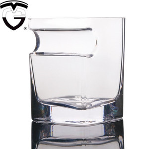 wholesale Unbreakable Lead-free shot hexagon mug cocktail cigar wine crystal whiskey drinking glass tea beer cup