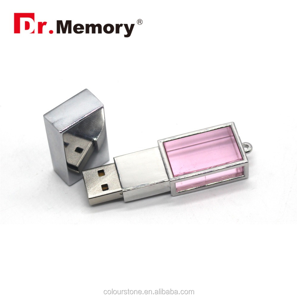 Dr.memory hot luxury pink crystal/diamond usb flash drive with 3d logo custom,best gift for girls/advertisement