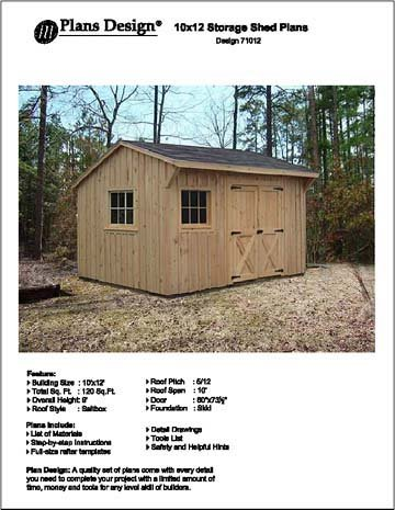 Cheap Free 10x12 Shed Plans Find Free 10x12 Shed Plans