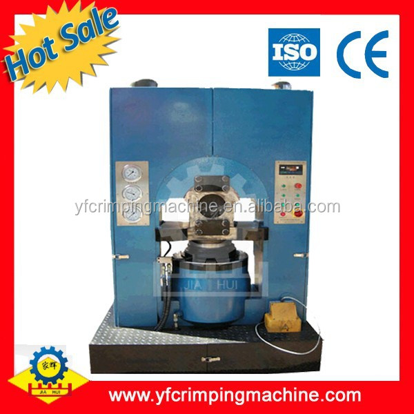 wire rope hydraulic swaging machine