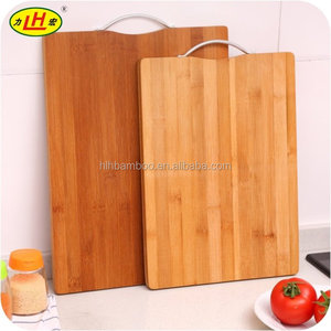 Wholesale organic kitchen prep bamboo cutting board stand holder