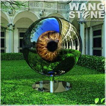 Polished Garden Mirror Ball Ornament Sphere Sculptures