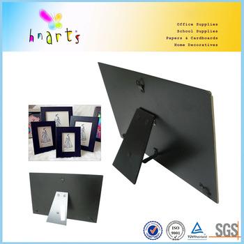 Photo Frame Backing Board/black Cardboard With Hangers - Buy Black ...