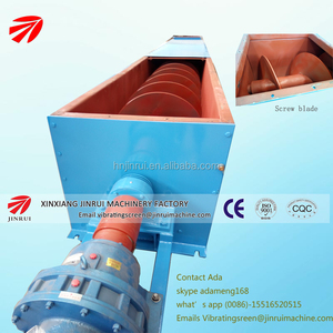 LS 800 screw conveyor with Japan brand bearing and reducer for sawdust