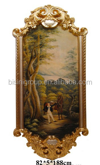 Art Antique Framed Landscape Painting in Western Style BF11-01241c
