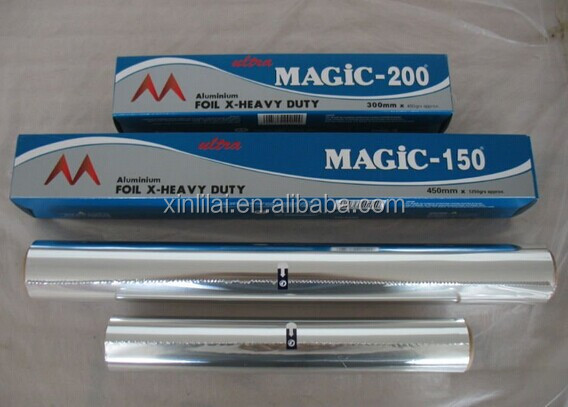"Ultra Foil 30 sqft 18""x 6.6 yds Heavy Duty Aluminum Foil Roll Case of 24"