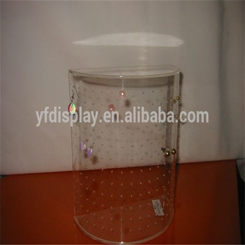 acrylic manufacturer produce cheap acrylic earing display