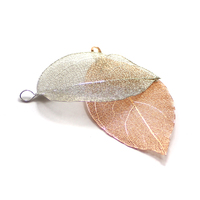 gun metal silver gold 4x6cm gymnastics picture frame pendants natural leaves pendants
