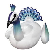 Summer swimming large beauty peacock style pvc inflatable beach toys animals