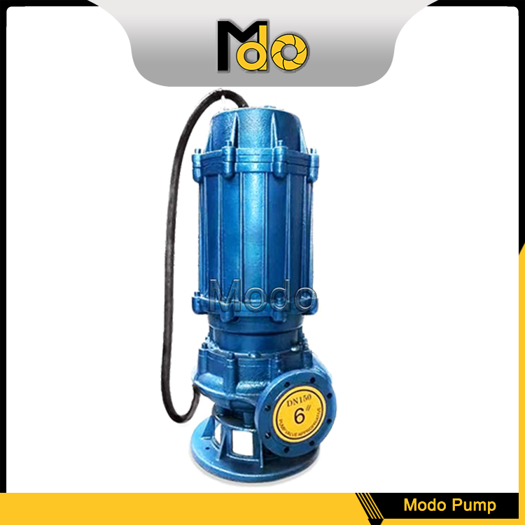 Deep suction centrifugal water pumping machine