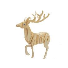 Cervo Animali Puzzle Carta Artigianato Bambini Kit Pedagogico Modello 1000 Pezzi
