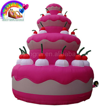 Tremendous Customized Design N Logo Amazing Giant Advertising Inflatable Birthday Cards Printable Opercafe Filternl