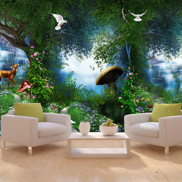 Hd New Designs Nature Fantastic 3d Wall Murals Digital