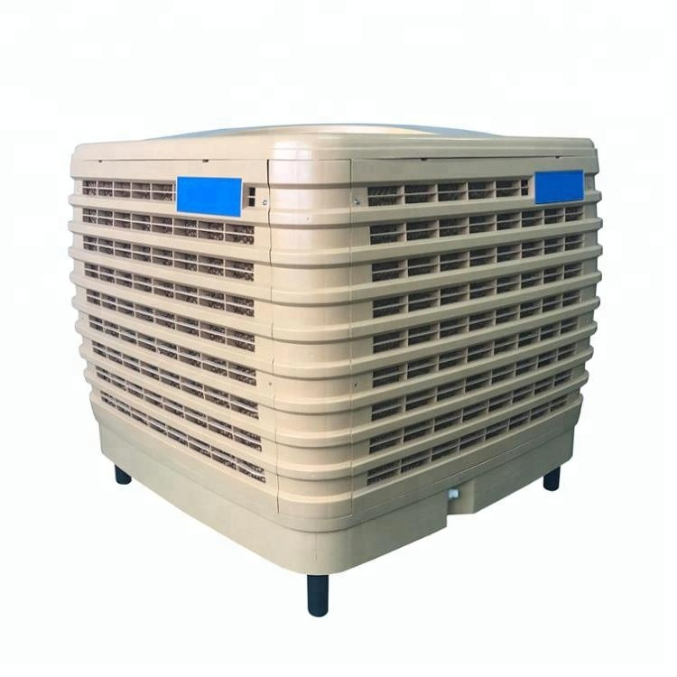 1.1kw energiebesparing fabriek cooling 100 vierkante meter Evaporative air conditioner