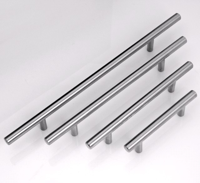 Stainless Steel Kitchen Cabinet Handles And Knobs: 96mm Furniture 304 Stainless Steel Handle Cabinet Pulls